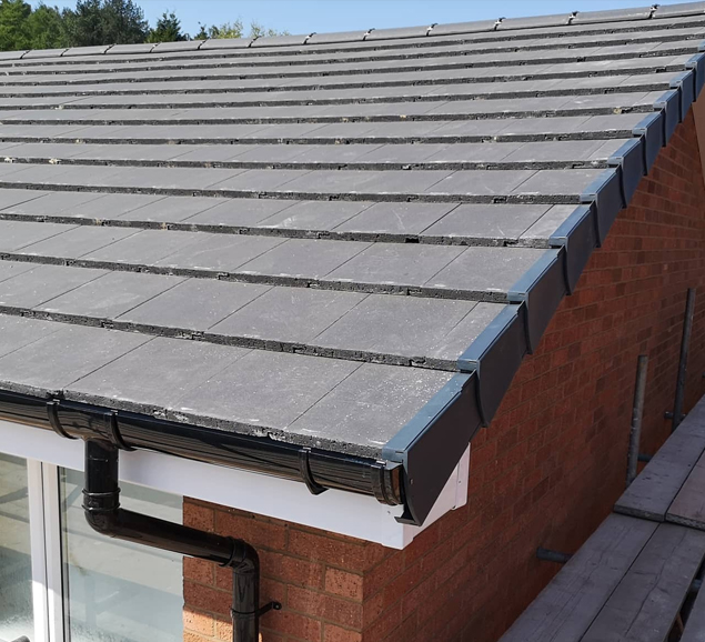 slate and tile roof